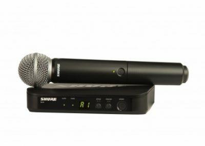 blx 24e sm58 draadloze microfoon